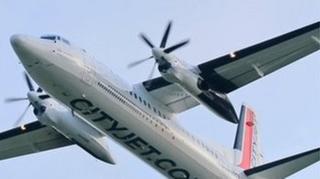 CityJet plane