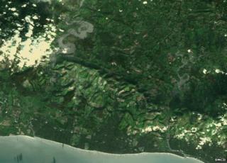 Sussex by satellite