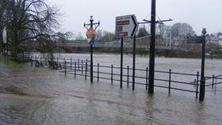Dumfries Flooding (Pic: Colin Colthart)