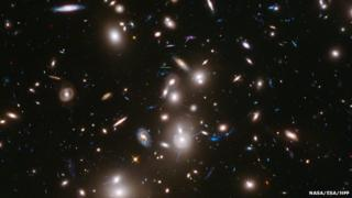 Abell 2744, a massive cluster in the constellation Sculptor