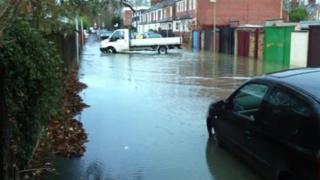Binsey flooding