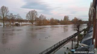 River Avon at Worcester