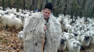 Ghita the shepherd