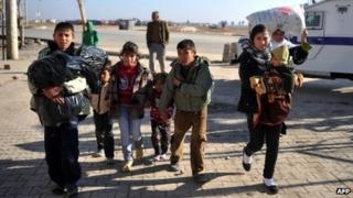 Syrian refugees in Turkey. Photo: 11 January 2014