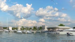 Lake Lothing development, Lowestoft