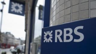 RBS logo on store