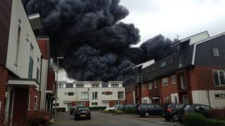 Fire, Newport Pagnell