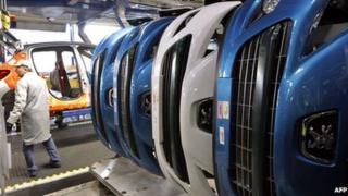 PSA Peugeot Citroen factory