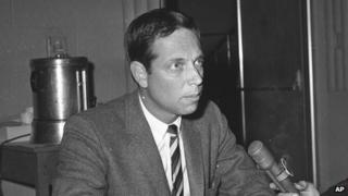 Richard Shepherd pictured in 1964