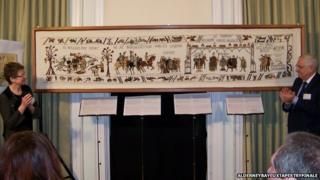 Unveiling of the Alderney tapestry
