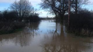 Buttsbury Wash ford, near Ingatestone