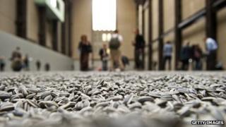 Ai Weiwei's Sunflower Seeds installation