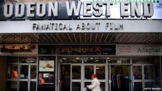 Odeon cinema West End