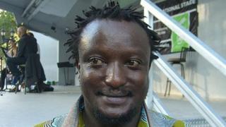 Binyavanga Wainaina Photo by Nightscream, Wikimedia Commons