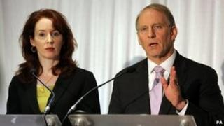 Meghan O'Sullivan and Richard Haass chaired a series of round-table talks
