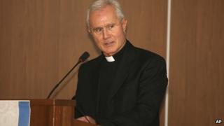 Undated file photo of Monsignor Nunzio Scarano