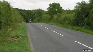B1248 towards Wharram-le-Street