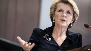 File photo: Julie Bishop