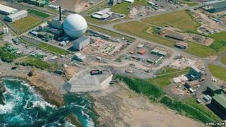 Aerial image of Dounreay