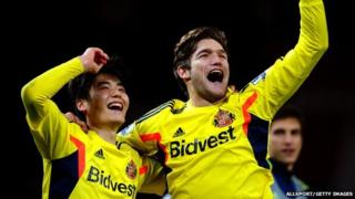 Ki Sung-Yueng and Marcos Alonso