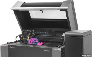 Stratasys Objet500 printer