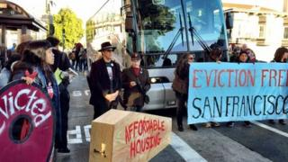 Protests in San Francisco