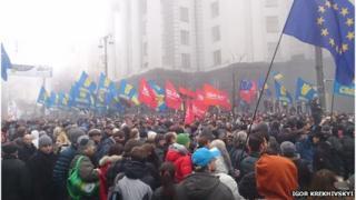 Protests Kiev November 2013