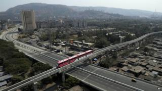 Mumbai has become the first Indian city to have monorail services