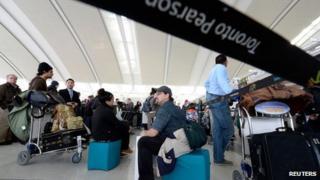 Pearson International Airport in Toronto on 7 January 2014