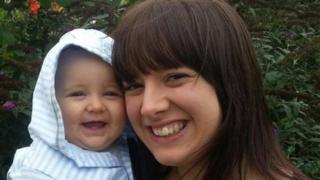 Alyssa Bray and her son Elijah