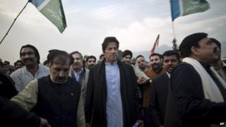 Imran Khan (C), Dec 2013