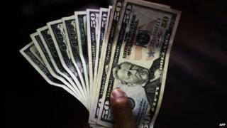 US dollar notes