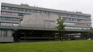 Shropshire Council's Shirehall in Shrewsbury