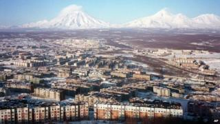 View of Kamchatka's main city - file pic