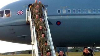 Returning Dambusters squadron