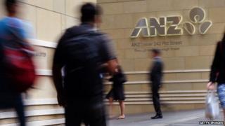 Anz logo Sydney
