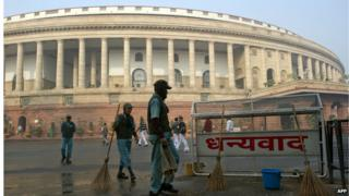 The Indian parliament has started its last session before the general election