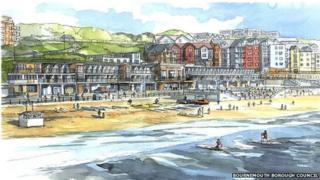 Bournemouth Coastal Activity Park design