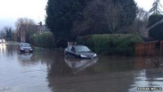 Flooding in Stoke Manderville