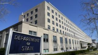 Headquarter building for the State Department, is seen in Washington 9 March 2009