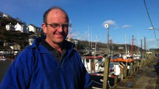 Dave Bond in Looe