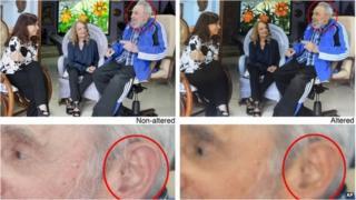 Fidel Castro photomontage