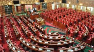 Kenya's parliament