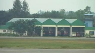 Rangoon airport