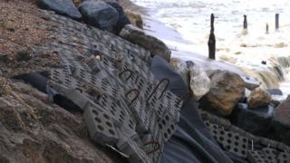 Bawdsey sea defences