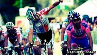 Giro cyclist