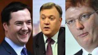 George Osborne, Ed Balls and Danny Alexander