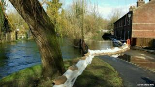 River Itchen, Winchester