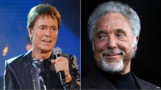 Sir Cliff Richard/Sir Tom Jones