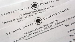 Student Loan Company letter